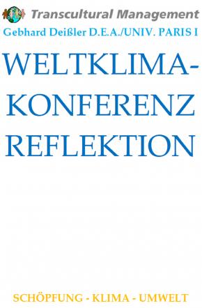 WELTKLIMAKONFERENZ REFLEKTION
