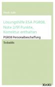 Lösungshilfe ESA PGR08, Note 2/91 Punkte, Korrektur enthalten