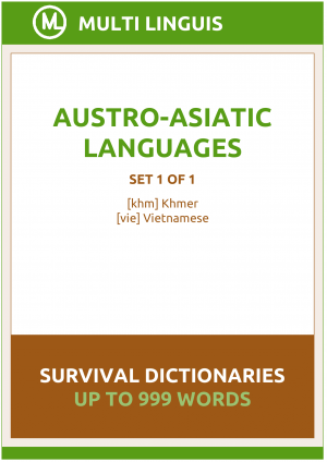 Austro-Asiatic Languages Survival Dictionaries