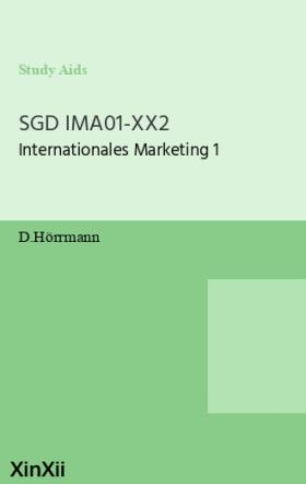SGD IMA01-XX2