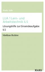 LUA 1 Lern- und Arbeitstechnik ILS