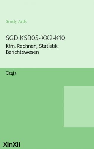 SGD KSB05-XX2-K10