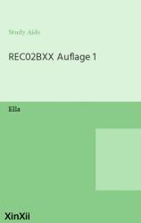 REC02BXX Auflage 1