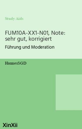 FUM10A-XX1-N01, Note: sehr gut, korrigiert