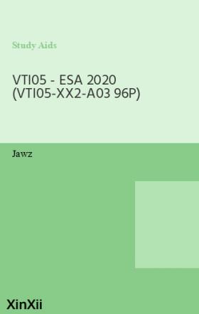 VTI05 - ESA 2020 (VTI05-XX2-A03 96P)