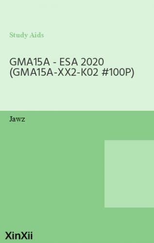 GMA15A - ESA 2020 (GMA15A-XX2-K02 #100P)