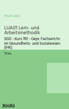 LUA01 Lern- und Arbeitsmethodik