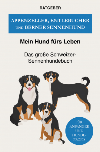 Appenzeller, Entlebucher und Berner Sennenhund