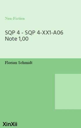 SQP 4 - SQP 4-XX1-A06 Note 1,00