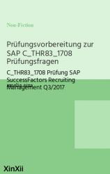 Prüfungsvorbereitung zur SAP C_THR83_1708 Prüfungsfragen