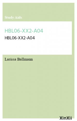 HBL06-XX2-A04