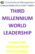 THIRD MILLENNIUM WORLD LEADERSHIP