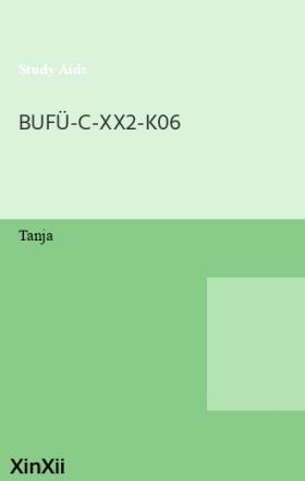 BUFÜ-C-XX2-K06