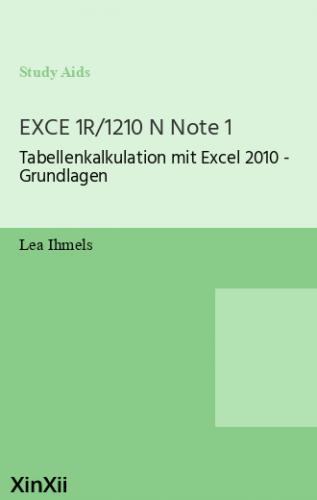 EXCE 1R/1210 N Note 1