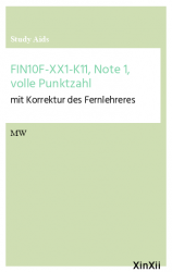 FIN10F-XX1-K11, Note 1, volle Punktzahl