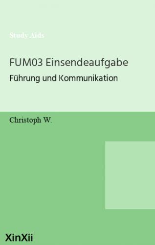 FUM03 Einsendeaufgabe