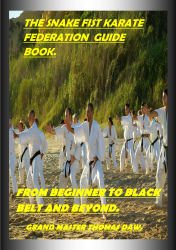 The Snake Fist Karate Federation Guide Book.