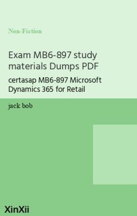 Exam MB6-897 study materials Dumps PDF