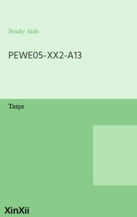 PEWE05-XX2-A13