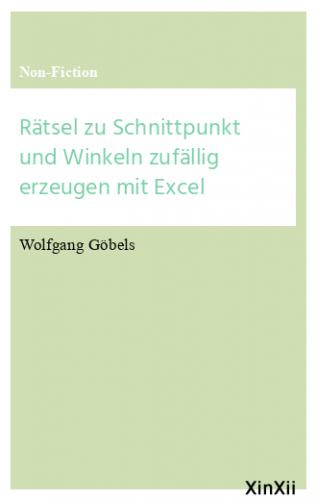 Rätsel zu Schnittpunkt und Winkeln zufällig erzeugen mit Excel