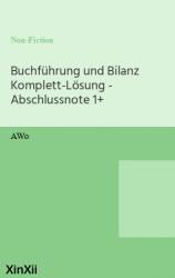 Buchführung und Bilanz Komplett-Lösung - Abschlussnote 1+
