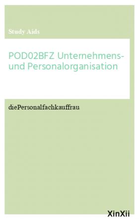 POD02BFZ Unternehmens- und Personalorganisation
