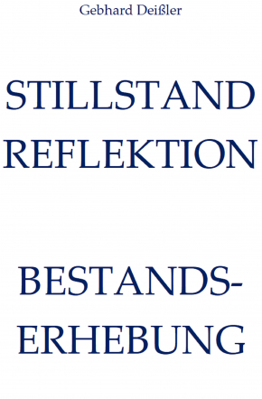 STILLSTAND REFLEKTION