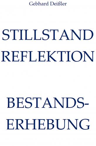 STILLSTAND REFLEKTION