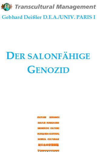 DER SALONFÄHIGE GENOZID