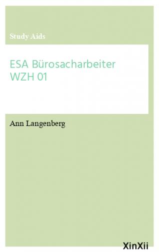 ESA Bürosacharbeiter WZH 01