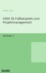 GMA 5b Fallbeispiele zum Projektmanagement