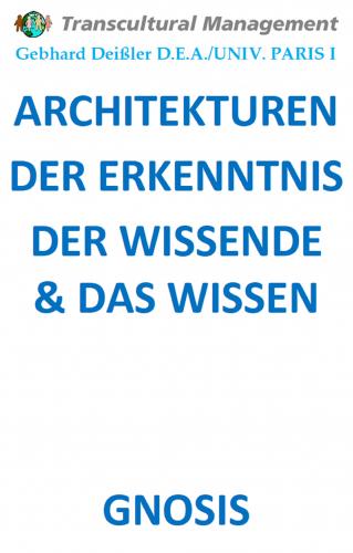 ARCHITEKTUREN DER ERKENNTNIS