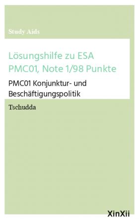 Lösungshilfe zu ESA PMC01, Note 1/98 Punkte