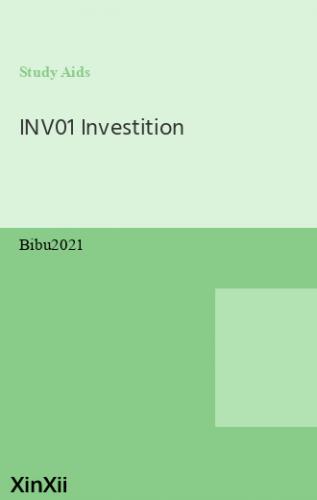 INV01 Investition