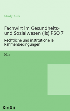 Fachwirt im Gesundheits- und Sozialwesen (ils) PSO 7