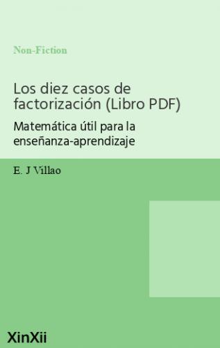 Los diez casos de factorización (Libro PDF)