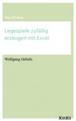 Legespiele zufällig erzeugen mit Excel