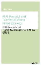 FEP3 Personal-und Teamentwicklung FEP03-XX1-K02