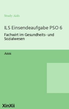 ILS Einsendeaufgabe PSO 6