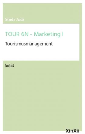 TOUR 6N - Marketing I