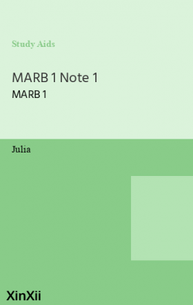 MARB 1 Note 1