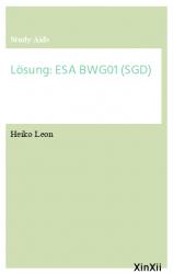 Lösung: ESA BWG01 (SGD)