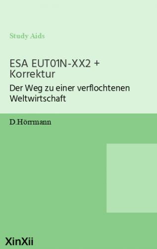 ESA EUT01N-XX2 + Korrektur