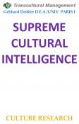 SUPREME CULTURAL INTELLIGENCE