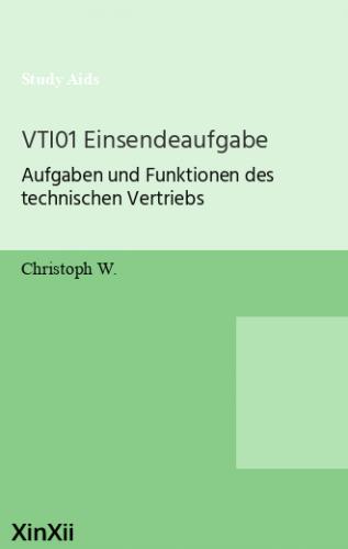 VTI01 Einsendeaufgabe