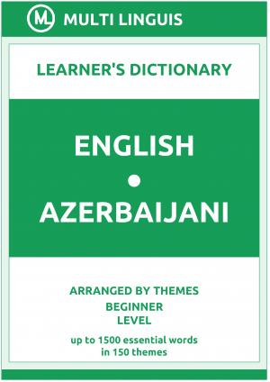 English-Azerbaijani Learner's Dictionary