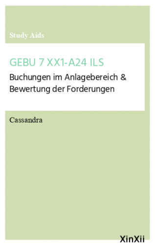 GEBU 7 XX1-A24 ILS