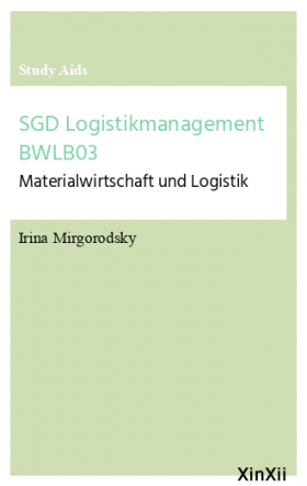 SGD Logistikmanagement BWLB03