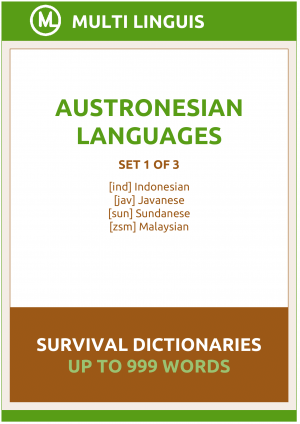 Austronesian Languages Survival Dictionaries