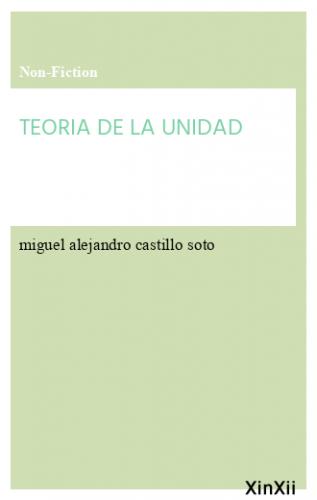 TEORIA DE LA UNIDAD
